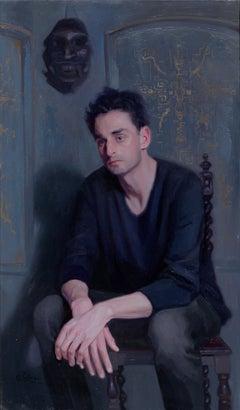 Lucifer - 21st Century Contemporary Oil Painting by Svetlana Tartakovska