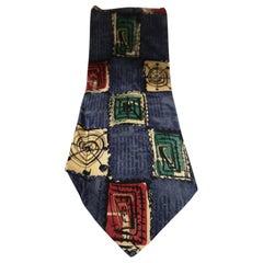 Svilanti multicoloured silk tie