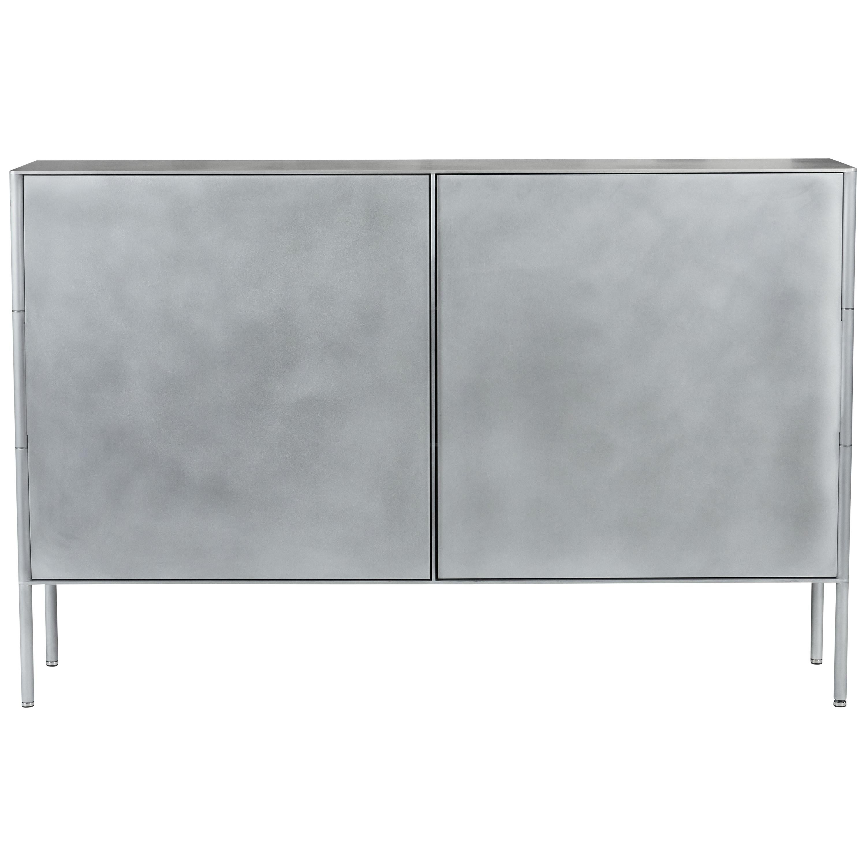 SW Cabinet by Jonathan Nesci in Cut and Machined Waxed Aluminum