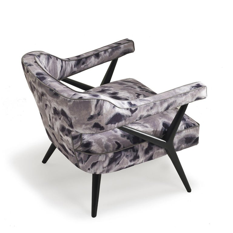 Italian SW2 Lounge Armchair For Sale