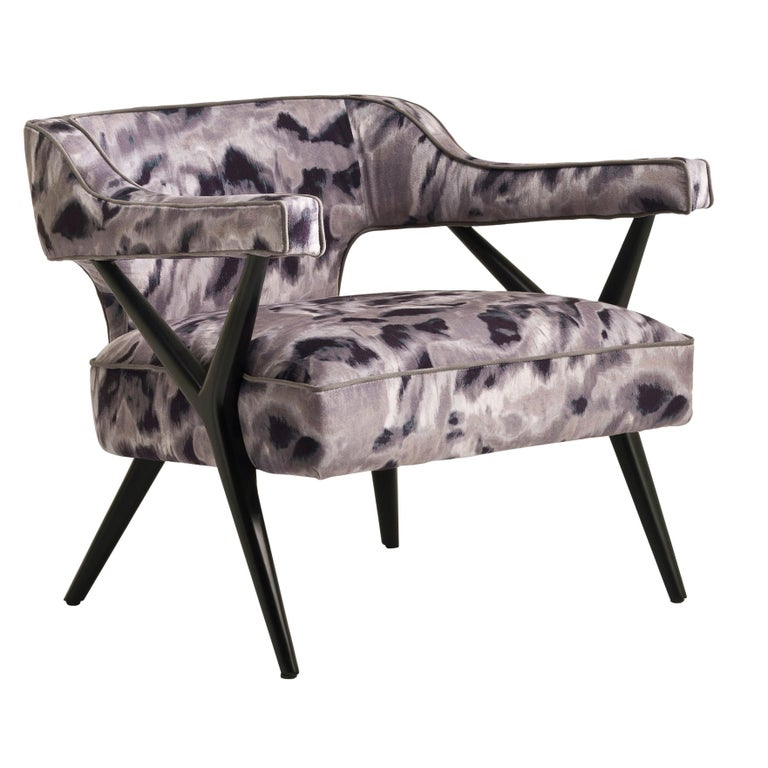 SW2 Lounge Armchair in Fabric For Sale