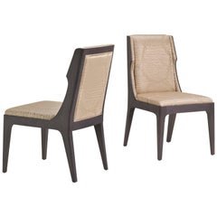 SW6 Wooden Chair in Beige