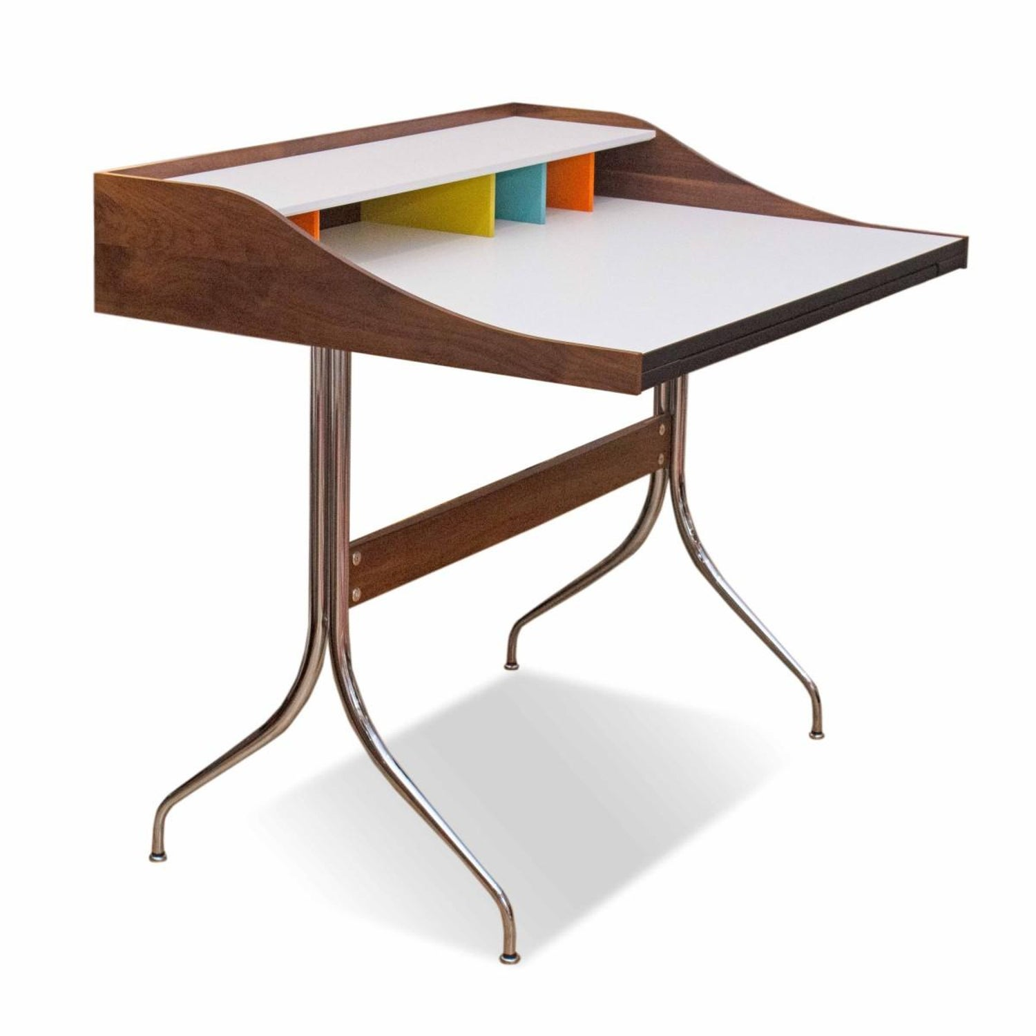 Swag Leg Desk By George Nelson For Herman Miller At