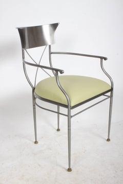 Swaim Modern Neoclassical Form Desk or Arm Chair