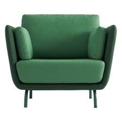 Swan Armchair with Metal Legs by Pepe Albargues