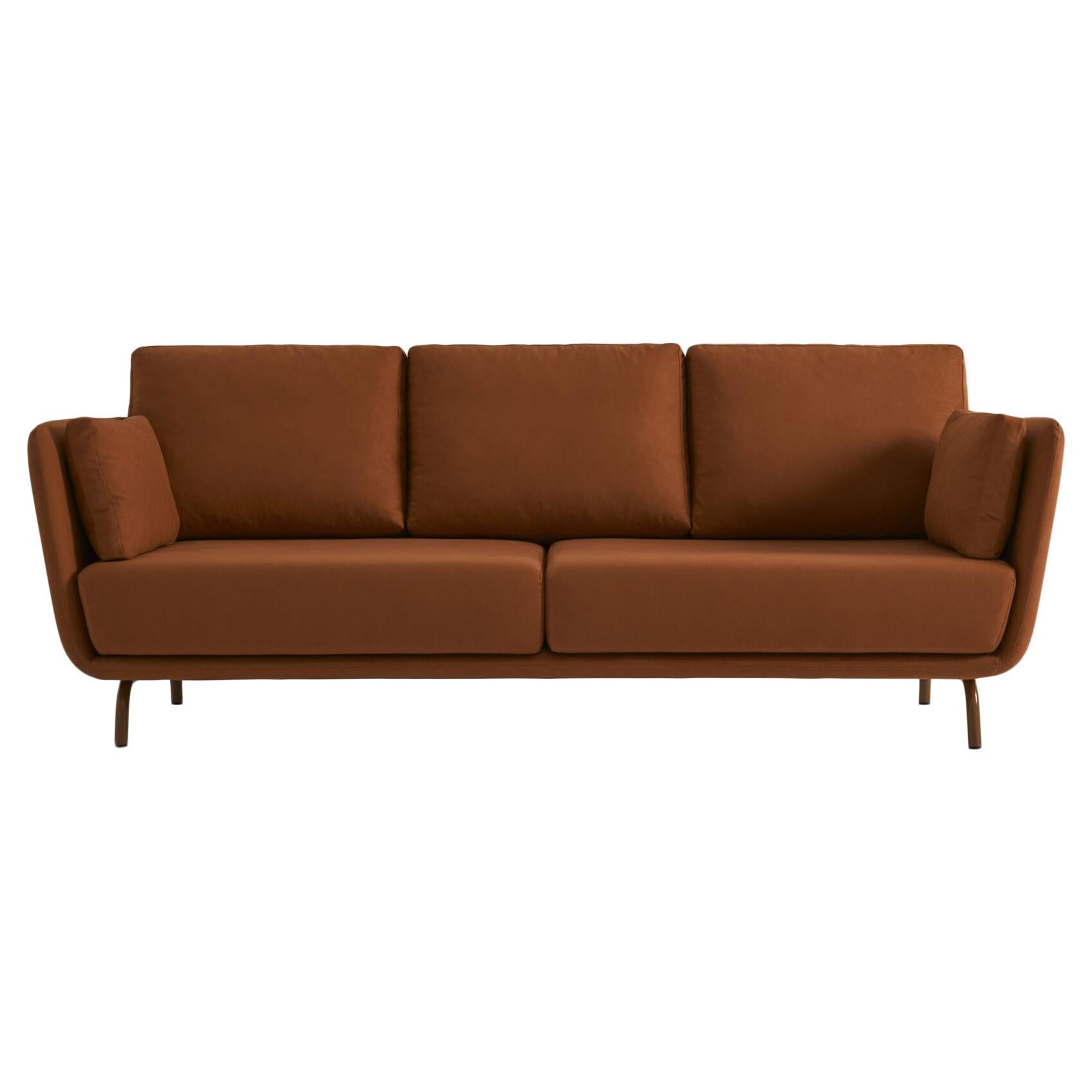 Swan Sofa with Metal Legs by Pepe Albargues