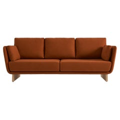 Swan Sofa with Wooden Legs by Pepe Albargues