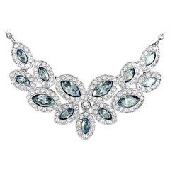 Swarovski Baron Rhodium-Plated Crystal Necklace