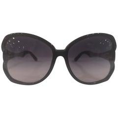 Swarovski black with swarovski sunglasses NWOT