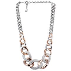 Swarovski Bound Crystal Pave Necklace