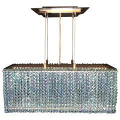 Swarovski Box Form Contemporary Chandelier