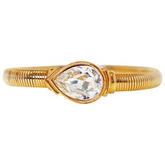Swarovski Crystal Bracelet by Trifari, Signed, circa 1980