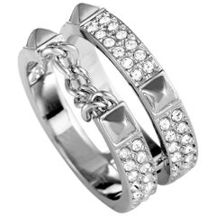 Swarovski Crystal Double Band Ring