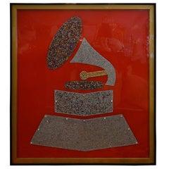 Swarovski Crystal Grammy by Mauro Oliveira