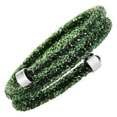 Swarovski Crystaldust Crystal Bangle Bracelet