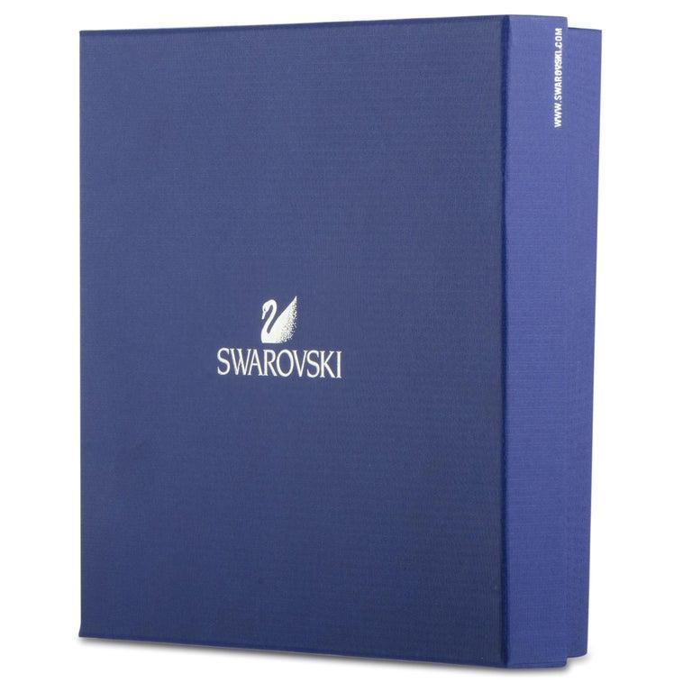 Swarovski Crystals Stardust White Necklace For Sale 1