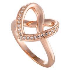 Swarovski Cupidon Rose Gold-Plated Crystal Ring