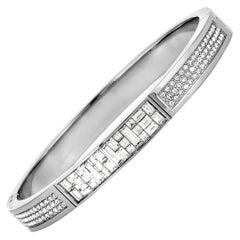 Swarovski Ethic Crystal Bangle Bracelet