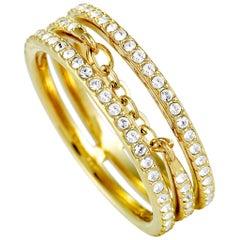 Swarovski Fine Gold-Plated Crystal Ring