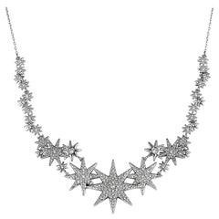 Swarovski Fizzy Crystal Pave Necklace