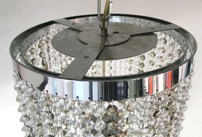 Swarovski Flush Mount by Fabio Ltd For Sale 1