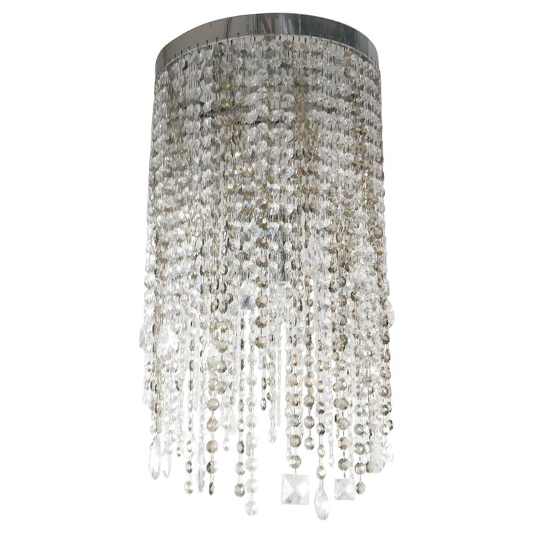 Swarovski Flush Mount by Fabio Ltd For Sale