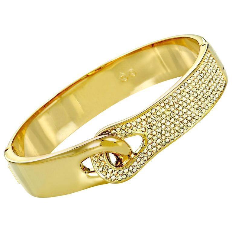 Swarovski Gallon Crystal Bangle Bracelet
