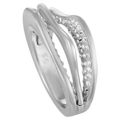 Swarovski Hilly Rhodium-Plated Crystal Ring