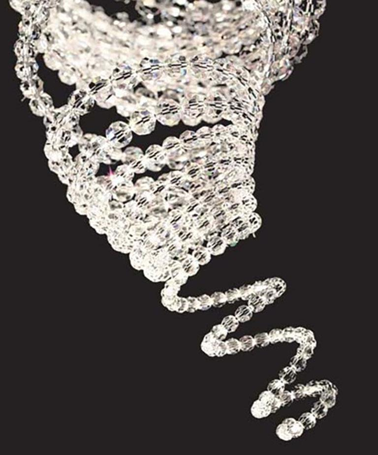 Modern Swarovski Michael Anastassiades Tulsa 1 Non-Illuminated Crystal Ceiling Light For Sale