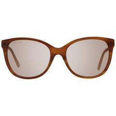Swarovski Mint Women Brown Sunglasses SK0218 5647F 56-18-140 mm