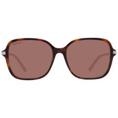 Swarovski Mint Women Brown Sunglasses SK0265-F 5852F 58-16-150 mm