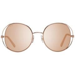 Swarovski Mint Women Rose Gold Sunglasses SK0230 5428G 54-20-145 mm