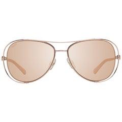 Swarovski Mint Women Rose Gold Sunglasses SK0231 5528G 55-15-140 mm