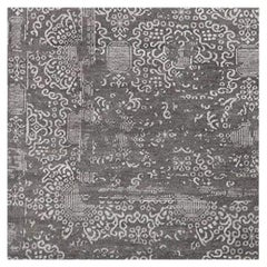 Swatch for Andra Rug in Graphite / Dove by Ben Soleimani