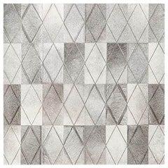 Swatch for Arlequin Hide Rug in Grey by Ben Soleimani