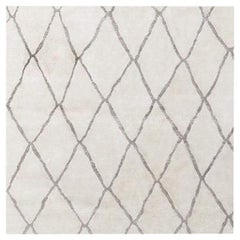 Swatch for Arlequin Rug in Cream / Charcoal by Ben Soleimani