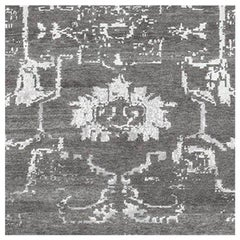 Swatch for Arte Rug in Charcoal by Ben Soleimani