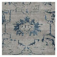 Swatch for Arte Rug in Grey / Nocturne by Ben Soleimani
