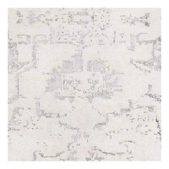 Swatch for Arte Rug in Ivory / Silver by Ben Soleimani