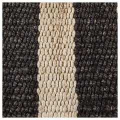 Swatch for Banna Rug in Natural / Black by Ben Soleimani