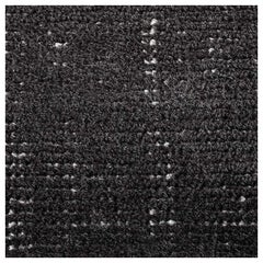 Swatch for Distressed Wool Rug in Black by Ben Soleimani