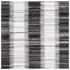 Swatch for Kata Rug in Silver / Graphite by Ben Soleimani