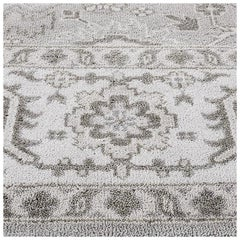 Swatch for Katya Rug in Taupe Ivory by Ben Soleimani