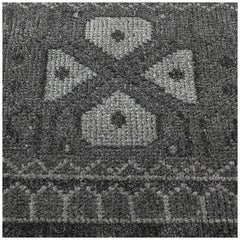 Swatch for Mariposa Rug in Charcoal Silver by Ben Soleimani