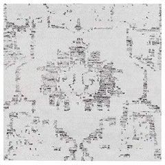 Swatch for Performance Arte Rug in Light Mist / Nickel by Ben Soleimani