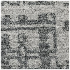 Swatch for Performance Montro Rug in Grey Charcoal by Ben Soleimani