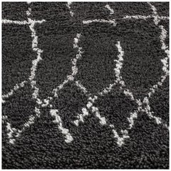 Swatch for Plaga Rug in Graphite Silver by Ben Soleimani