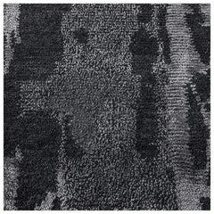 Swatch for Reve Rug – Gunmetal by Ben Soleimani