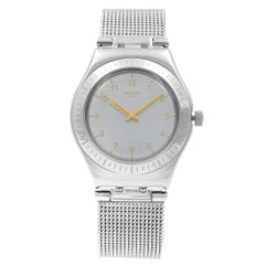 Swatch Irony Silver Steel Silver Dial Swiss Quartz Women's Watch YLS187M