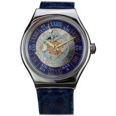 Swatch Platinum Automatic Wristwatch, circa 2000s